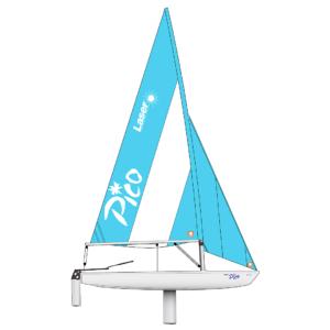 Laser Pico Segelboot Bootszeichnung